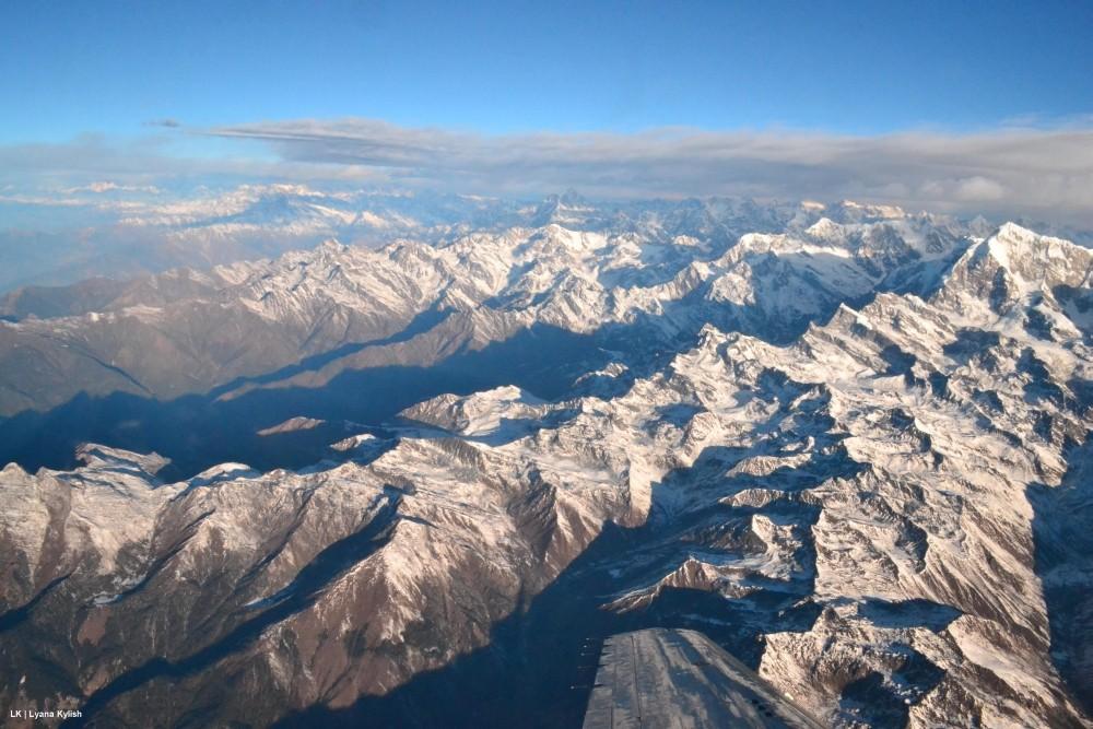 Гималаи фото с воздуха