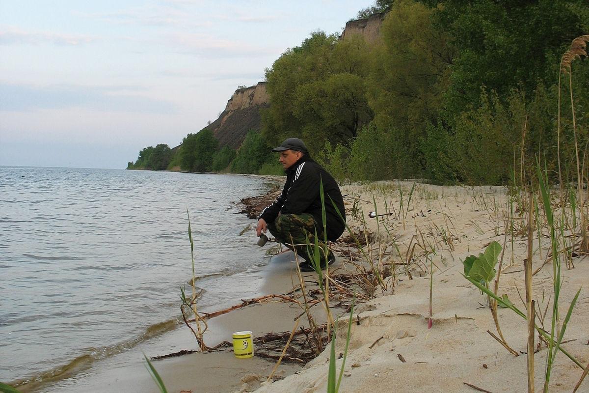 рыбалка на кременчугском водохранилищ